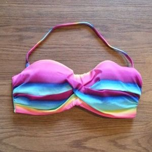 Victoria's Secret halter swim top 34D